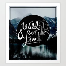 wild&free Art Print