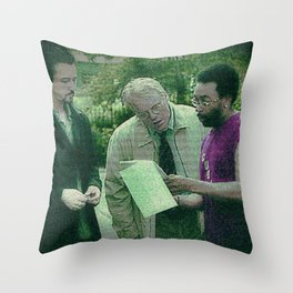 A Script For Ed & Philip By A Spike Throw Pillow