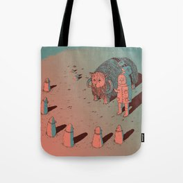 The Bison #2 Tote Bag