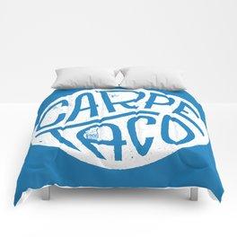 Carpe Taco Comforters