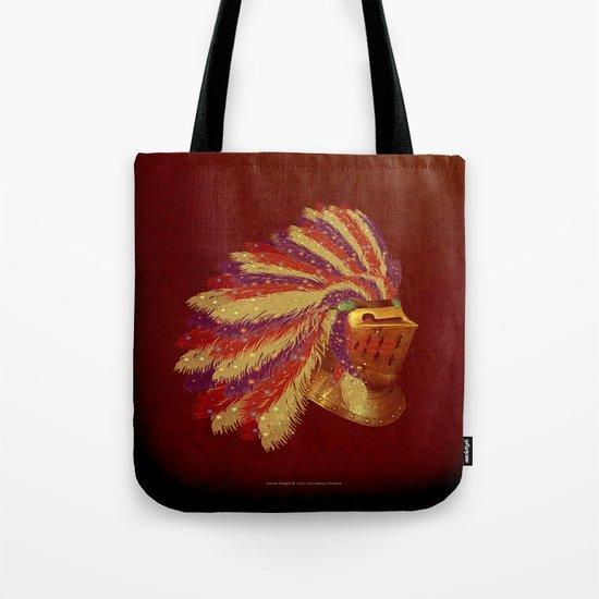 Indian Knight 141WP Tote Bag