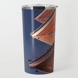 Kiyomizudera Roofs Travel Mug