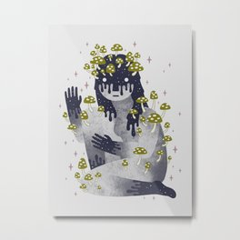 Celestial Decay Metal Print