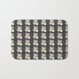 Cryptocurrency Pattern Bath Mat