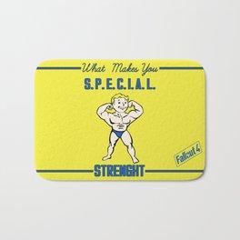 Strength S.P.E.C.I.A.L. Fallout 4 Bath Mat