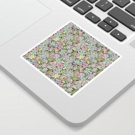 Succulent Pastel Sticker