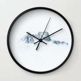 Mountain in the Sky Wall Clock