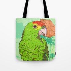 Parrot illustration Tote Bag