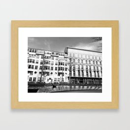 Urban meets classic Framed Art Print