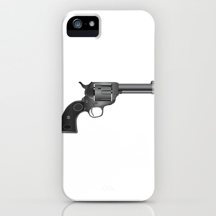 Six Gun iPhone Case