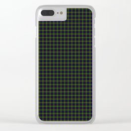 Clan Ranald Tartan Clear iPhone Case