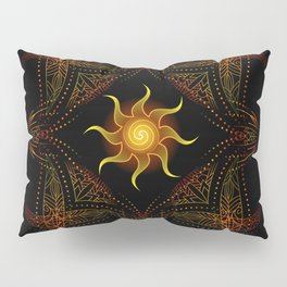 sun energy. part one Pillow Sham