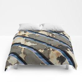 Rusted Boardwalk Comforters