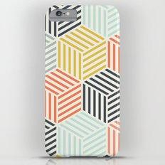 Colorful Geometric iPhone 6 Plus Slim Case