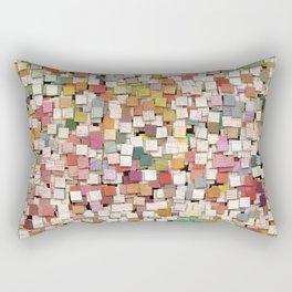 Aztec Vintage Pattern 10 Rectangular Pillow