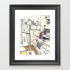 Brooklyn Kitchen, 2016 Framed Art Print