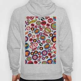 Superhero Stickers Hoody