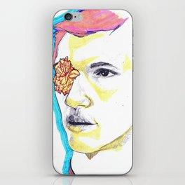 Flower boy iPhone Skin