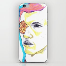 Flower boy iPhone Skin