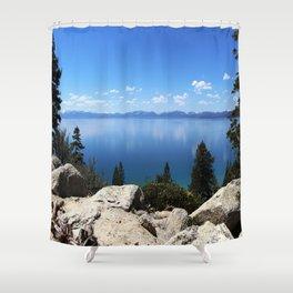Lake Tahoe, Nevada Shower Curtain
