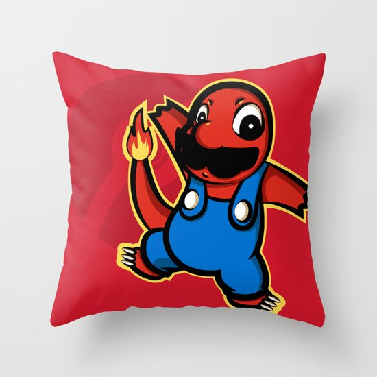 Charmio  Throw Pillow
