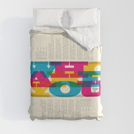 Who Are You? #1 Duvet Cover