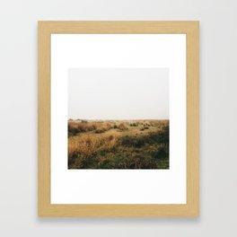 Fields Of Framed Art Print