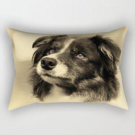 The Waiting Game Rectangular Pillow