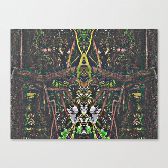 Treeflection V Canvas Print