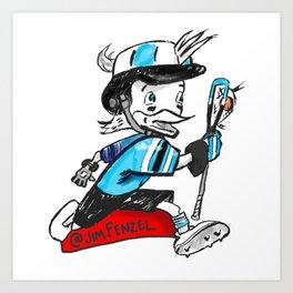 Blue Jay Laxcot Art Print