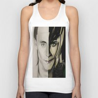 tom hiddleston Tank Tops featuring Tom Hiddleston by Goolpia