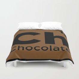 Chocolate Element Duvet Cover