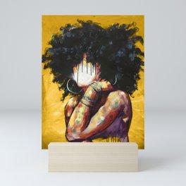 Naturally II GOLD Mini Art Print