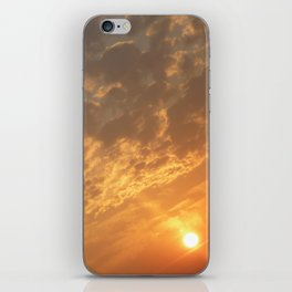 Sun in a corner iPhone Skin