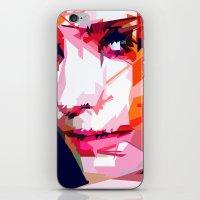 emma watson iPhone & iPod Skins featuring Emma Watson Vector by Raditya Giga