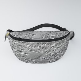Damaged silver Fanny Pack