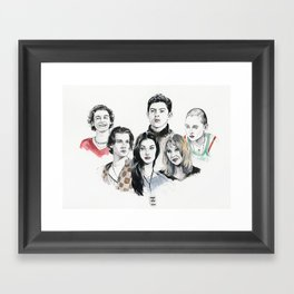Damn The Man!  Framed Art Print