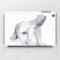 polar bear iPad Cases featuring Polar bear by Marta Olga Klara