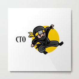 Efficient CTO Metal Print