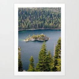 Inspiration Point, Emerald Bay, Lake Tahoe Art Print