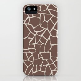 Brown Elephant iPhone Case