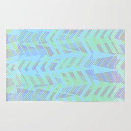 Seaside Chevron Rug