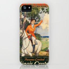 Vintage poster - Gulf Coast iPhone Case
