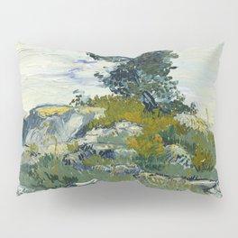 The Rocks by Vincent Van Gogh Pillow Sham