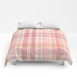 Pink Plaid Comforters