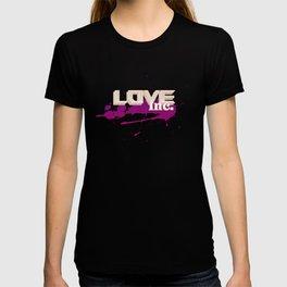 Love Inc - Cream/Purple T-shirt
