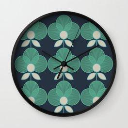 MCM Trois en Aqua Wall Clock