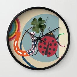 Good Luck Charm Wall Clock