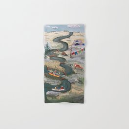 Canoeing Hand & Bath Towel