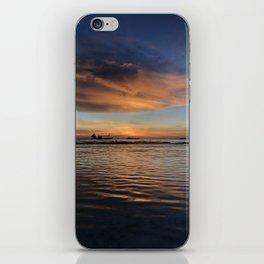 Boracay Sunset reflections iPhone Skin